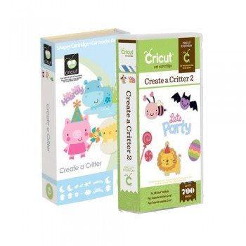 Cricut Cartridge Create a Critter & Create a Critter 2 Bundle