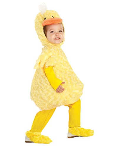 Underwraps Kid's Baby's Duck Costume, Large Childrens Costume, Yellow, Large