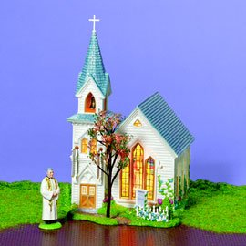 (Department 56 Happy Easter Church)