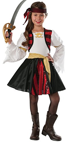 High Seas Pirate Costumes (Rubie's Costume High Seas Pirate Value Child Costume, Medium)