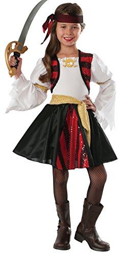 Rubie's Costume High Seas Pirate Value Child Costume, Medium