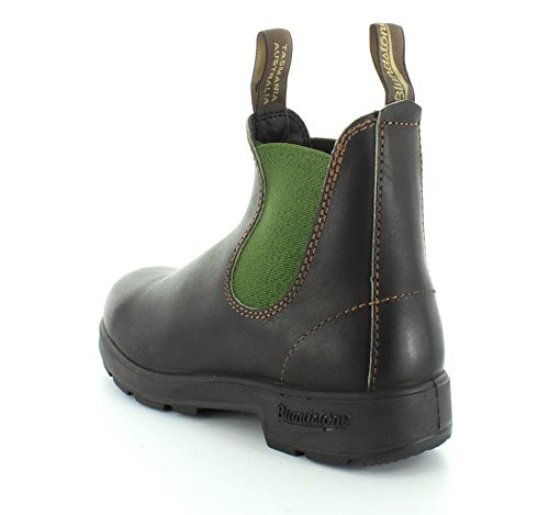 Mens Blundstone Stout Marrone / Oliva 500 Serie Boot Classico 8.5 Uk / 9.5 (m) Us