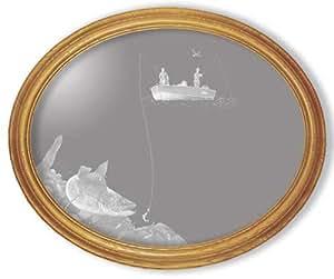 Amazon.com: Decorative Framed Mirror Wall Decor With ...