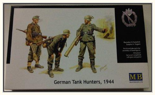 1/35 German Anti-Tank Group (1944) - 3 Figures