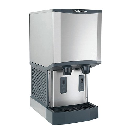 - Scotsman HID312A-1 Meridian Countertop Ice Maker and Dispenser, 260 lb. Production