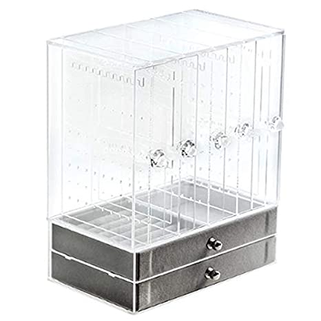 TOOGOO 5 Puertas Caja de Organizador de Joyas de AcríLico ...