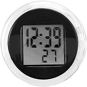 Universal Mini Motorraduhren Uhr Wasserdichte Aufklebbare Motorradhalterung Digitaluhr 1 Stück Auto