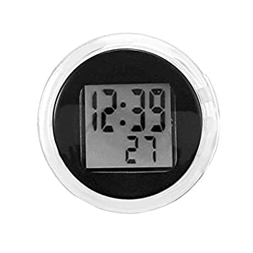 Amazon.com: FORNORM Digital Clock Stick On with Stopwatch, Universal Waterproof Motorcycle Clock Digital Clock for Kitchen Bathroom: Home & Kitchen