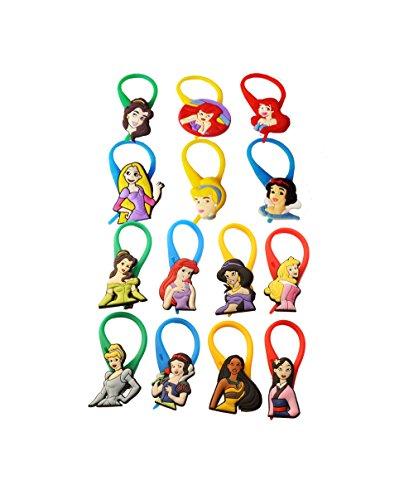 Hermes AVIRGO 14 Pcs Colorful Soft Zipper Pull Charms for Jacket Backpack Bag Pendant -