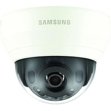 Samsung QND-6010R Cámara de seguridad IP Interior Almohadilla Marfil - Cámara de vigilancia (