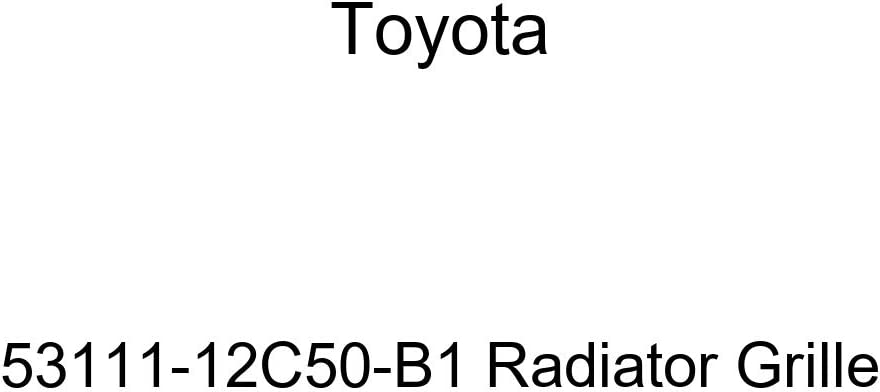 Genuine Toyota 53111-12C50-B1 Radiator Grille