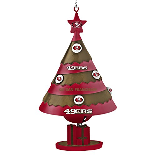 NFL San Francisco 49ers Tree Bell Ornament