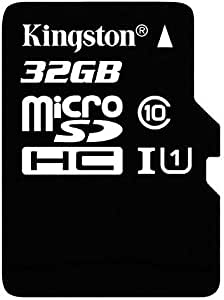 16 Gigabyte Card for Toshiba Excite X10 Tablet Phone with custom formatting and Standard SD Adapter. SDHC Class 4 Certified Professional Kingston MicroSDHC 16GB