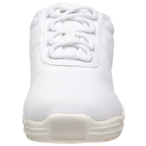 Capezio Lærred Dans Sneaker Hvid 0sOWLW