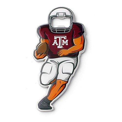 (NCAA Texas A&M Aggies Player Bottle Opener Magnet )