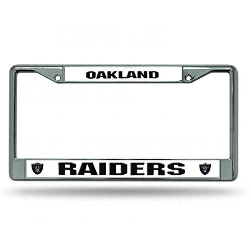 Oakland Raiders License Plate Raiders License Plate
