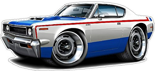 "1970 AMC Rebel Machine Garage Graphics & Decor 22"" x48"" (..."