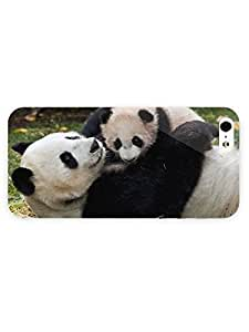 3d Full Wrap Case for iPhone 5/5s Animal Cute Panda