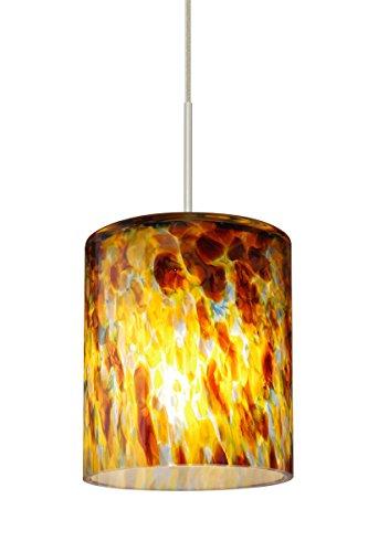 Besa Falla Cord Pendant with Quartz glass