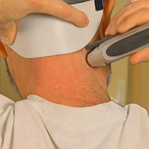 (Little Story  Hair Template, Barber's Edge Trim Your Own Neckline Without Mirror Cut Your Neck Hair Template)