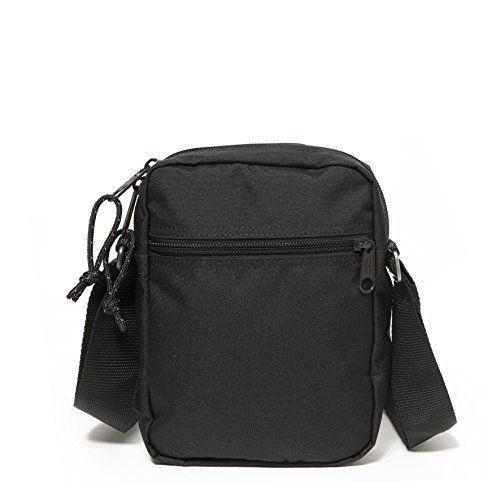 Eastpak THE ONE Bolso bandolera, 21 cm, 2.5 liters, Verde (Optical Green) Negro (Black Stitched)