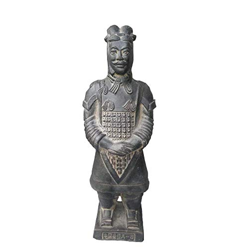 BMYLSYX Ancient Qin Dynasty Terracotta Warriors and Horses Sculpture Home Display Table Display Gift Terracotta Warriors Show 8.8