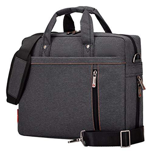 - Value-5-Star - Laptop bag 13 inch Shockproof airbag waterproof computer bag men and women luxury thick Notebook bag (Black)
