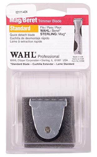 Wahl Professional Detachable Replacement Blade #2111 – Fits Echo, Beret, MAG and Sterling 4 Trimmer Models by Wahl Professional