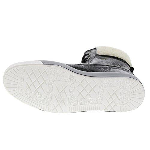 Marc Shoes Damen Fabienne Chukka Boots, Schwarz (Black-Combi), 42 EU