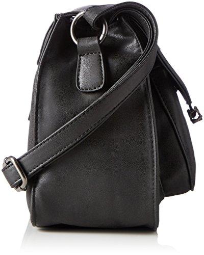 Damen H1114 Schultertasche, Schwarz (Black), 110x230x240 cm Rieker