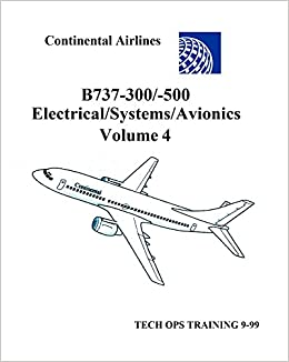Boeing 737 Tech Ops Training Volume 4 B737300500 Electrical