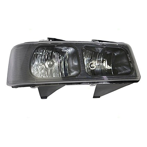 Passengers Composite Halogen Headlight Headlamp 03-18 Chevy Express GMC Savana Van 15879432 GM2503233 1590997 AutoAndArt
