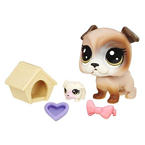 Littlest Pet Shop Bullena Doghouser & Scamper Doghouser