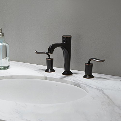 KRAUS Elavo 17 Inch Oval Undermount Porcelain Ceramic Bathroom Sink in White with Overflow, KCU-211 by Kraus (Image #10)