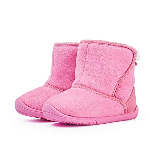 gb Infant Boots Baby Boys Girls Lightweight Snow Winter Outdoor Shoes18FWLT004-140Pink
