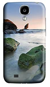 Green rocks beach Polycarbonate Hard Diy For Touch 5 Case Cover 3D