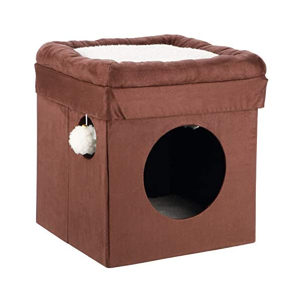 TRIXIE Pet Products Miguel Fold and Store Cat Tower 1
