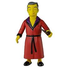 "NECA The Simpsons 25th Anniversary - Series 1 - Hugh Hefner Action Figure, 5"""