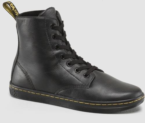 Dr. Martens Women's Leyton Boot,Black,6 UK/8 M