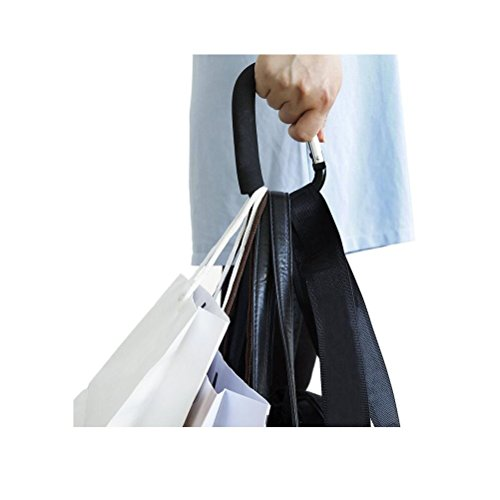 Large Multi Purpose Stroller Hooks Organizer for Hanging Purses, Diaper Bag, Shopping Bags. Clip Fits Single/Twin Travel Systems, Car Seats and Joggers, Durable and Lightweight (1 Pack) by XIAOYANGCHUN