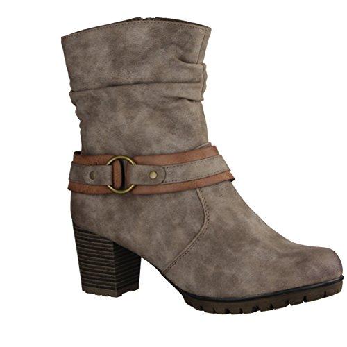 Rieker Damen 98572 Kurzschaft Stiefel 39