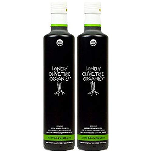 Lonely Olive Tree Organic Extra Virgin Olive Oil 500ml - 2 Pack