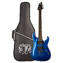 Schecter C-1 SGR by Electric Guitar-Electric Blue