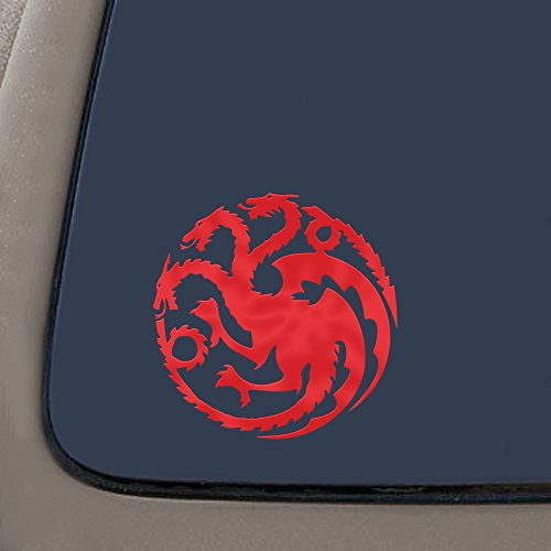 NI170 Targaryen Thrones House Sticker product image