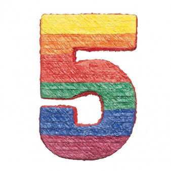 amscan Pinatas Numbers 5]()