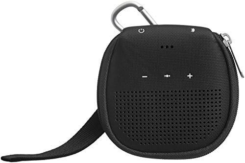 Amazon Fundamentals Case with Kickstand for Bose SoundLink Micro Bluetooth Speaker – Black