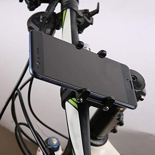 Bicicletta SupportoデルTELEFONOモバイルジNavigazioneデルTELEFONO FissoスタファモトManubrioにおいてレーガジALLUMINIO当たりイルGPSバイクラックマウント (Colore : 3, Spedito da : La Spagna)