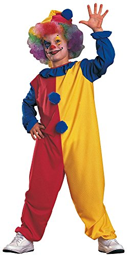 Haunted House Child's Clown Costume, Large By