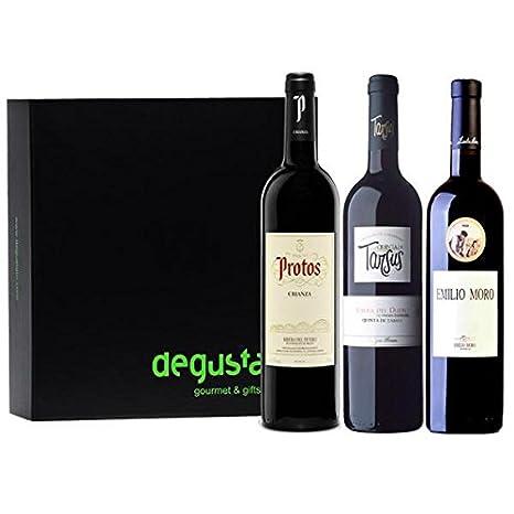 Estuche de vinos Ribera del Duero: Amazon.es: Alimentación y ...