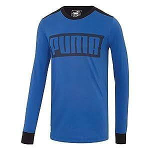 PUMA Long Sleeve Mesh Knockout T-Shirt